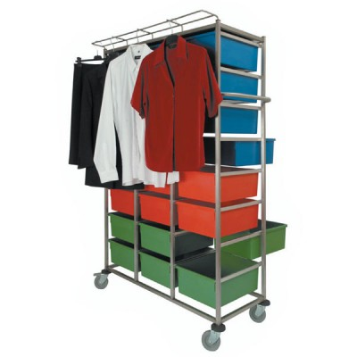 Personal Clothing Distribution Carts