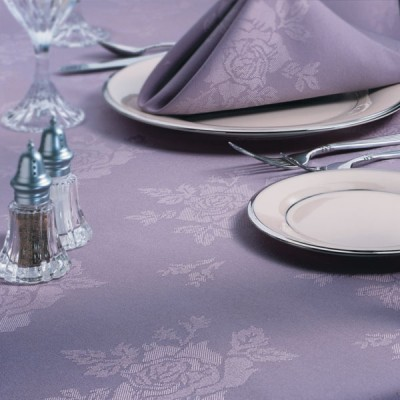 Rose Tablecloths & Napkins