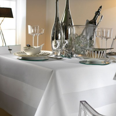 Satin Band Tablecloth & Napkins
