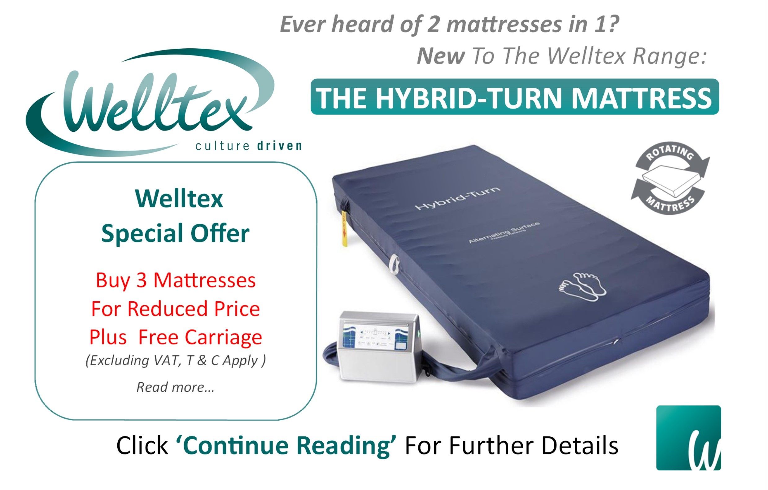 Introducing 2 Mattresses in 1: The Hybrid-Turn Mattress